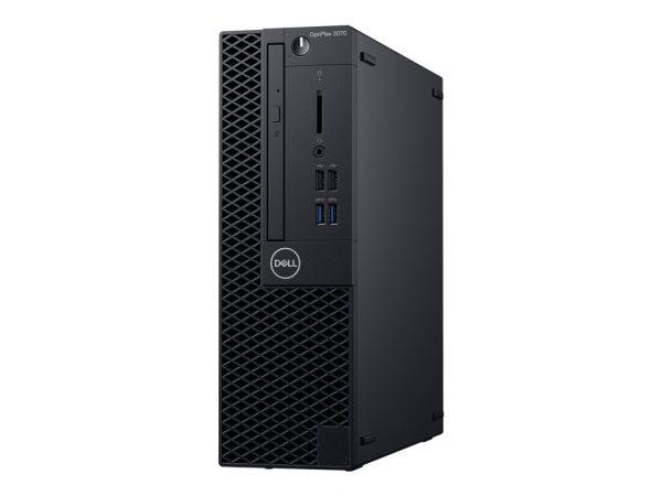 Dell OptiPlex 3070 - SFF - Core i5 9500 3 GHz - 8 GB - HDD 1 TB - Englis (G14D2)