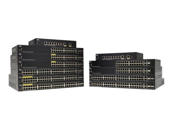 Cisco Small Business SG350-52 - Switch - L3 - managed - 48 x (SG350-52-K9)