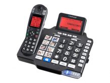 ClearSounds A1600BT - cordless phone - answering system - with Blu (CLS-A1600BT)