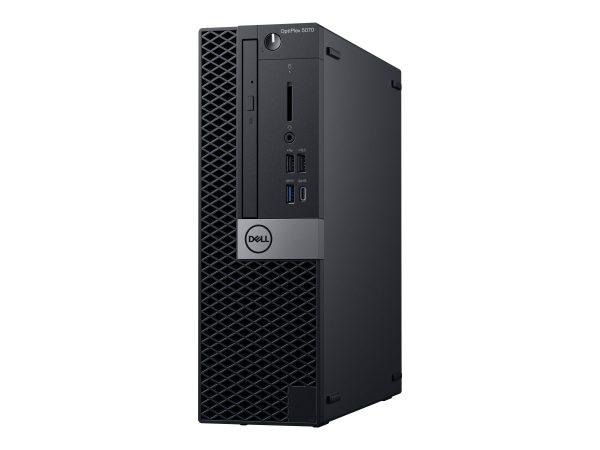 Dell OptiPlex 5070 - SFF - Core i7 9700 3 GHz - 8 GB - SSD 256 GB - Engl (8756K)