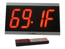 Sonic Alert BD4000 - alarm clock - electronic - desktop, wall mounta (SA-BD4000)