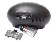 Sonic Traveler SBT600SS - alarm clock - electronic - desktop (SA-SBT600SS)