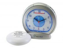 Sonic Alert Sonic Bomb SBA475SS - alarm clock - electronic - deskt (SA-SBA475SS)