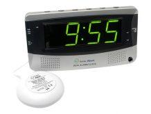 Sonic Alert The Sonic Boom - alarm clock - electronic - desktop (SA-SBD375SS)
